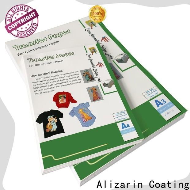 custom laser transfer paper company for handbags
