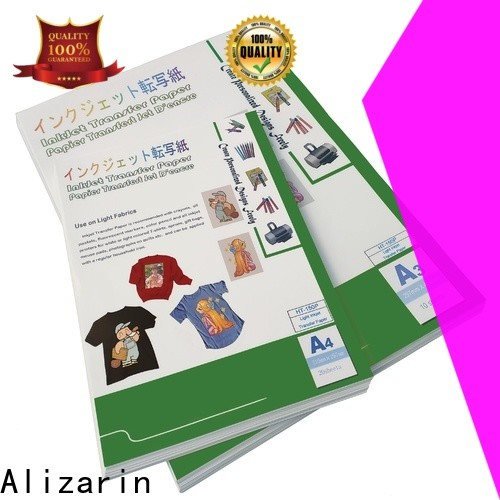 Alizarin inkjet transfer paper suppliers for clothes