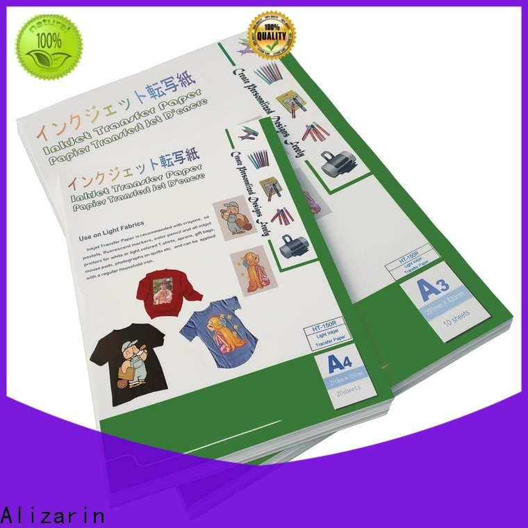 wholesale inkjet printer transfer paper company for clothes