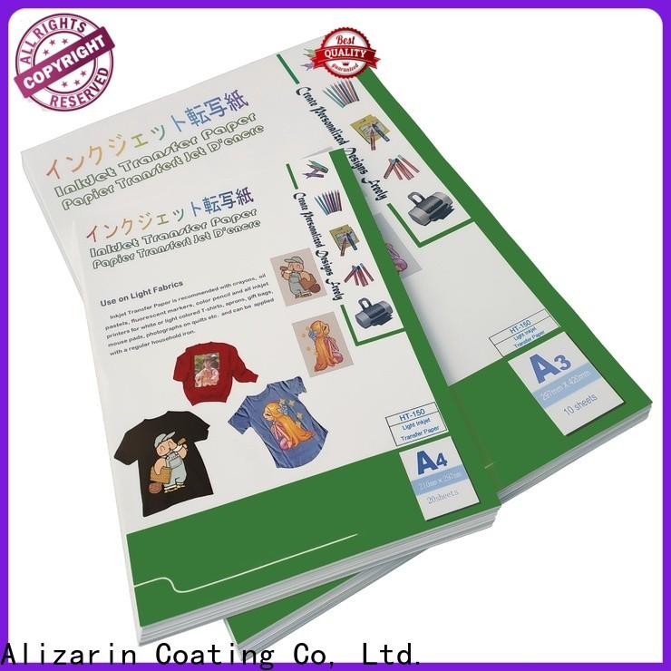 Alizarin heat transfer paper manufacturers for textiles
