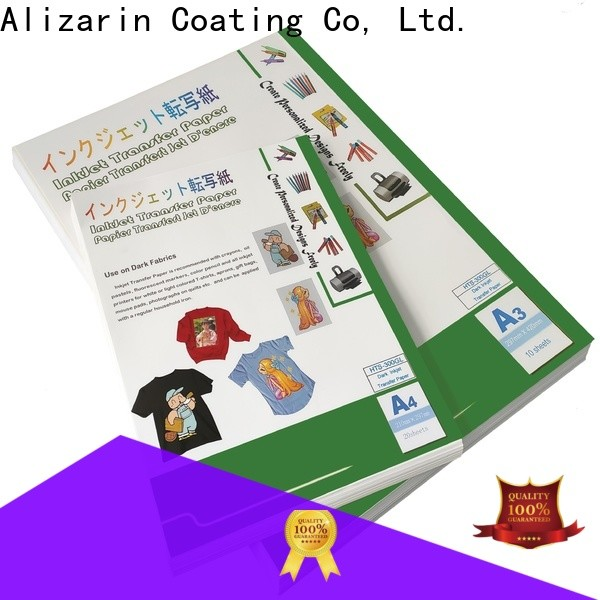 Alizarin sublimation paper suppliers for textiles