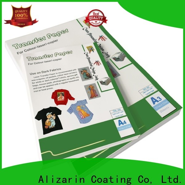 Alizarin top laser transfer paper company for leather articles