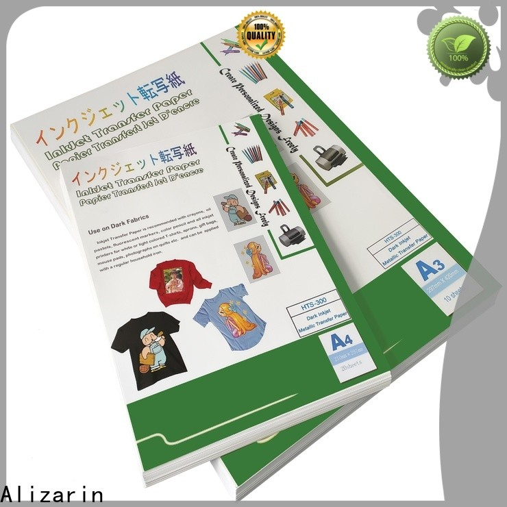 Alizarin transfer paper factory for clothes