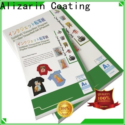 wholesale t shirt iron on paper for business for light fabric