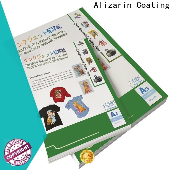 Alizarin inkjet transfer paper suppliers for dark fabric