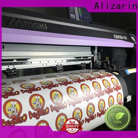 Alizarin eco solvent transfer paper supply for sportswear