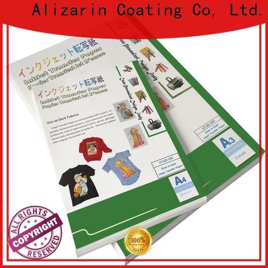 Alizarin new inkjet transfer paper factory for canvas
