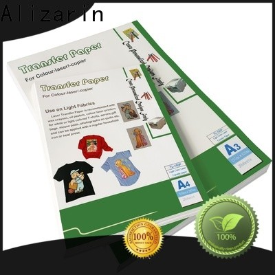 Alizarin wholesale laser heat transfer paper factory for art papers