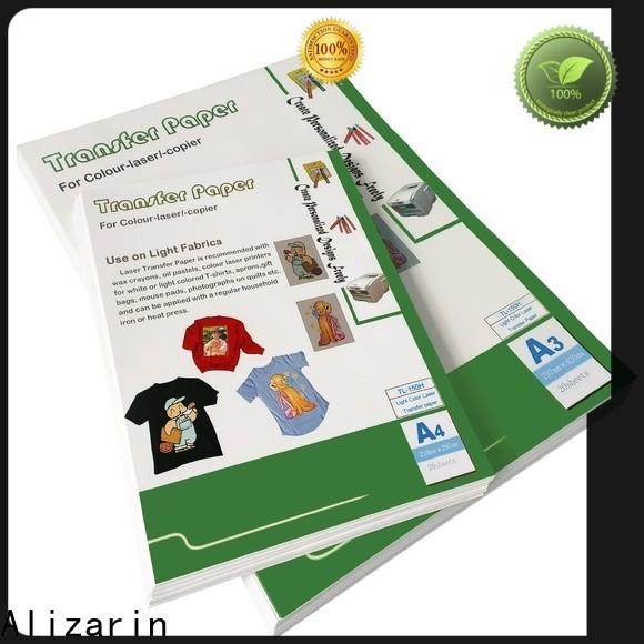 Alizarin laser heat transfer paper manufacturers for garments