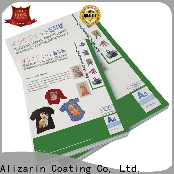new inkjet transfer paper for t shirts for business for canvas