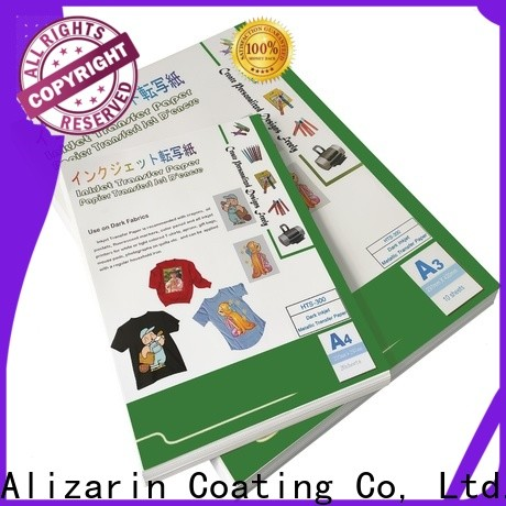 Alizarin latest inkjet heat transfer paper suppliers for arts and crafts