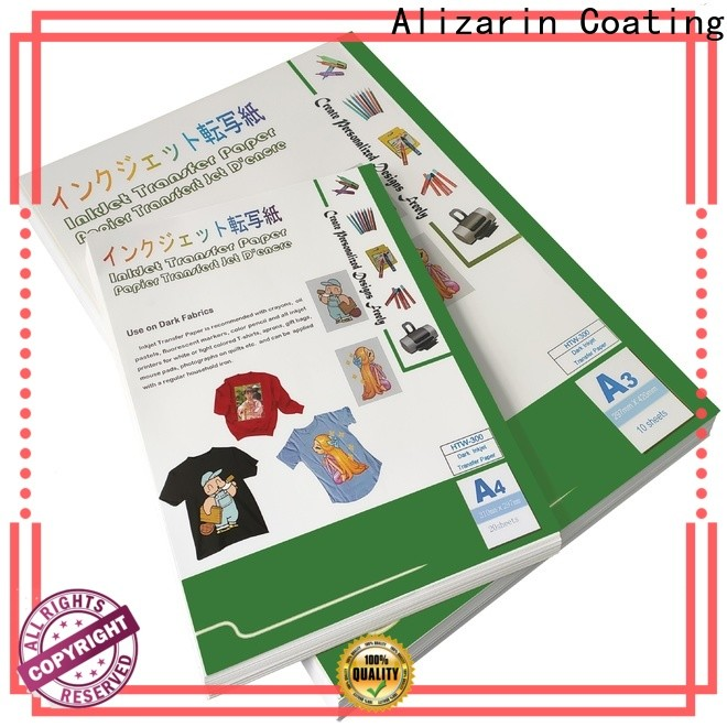 Alizarin custom inkjet transfer paper for business for canvas