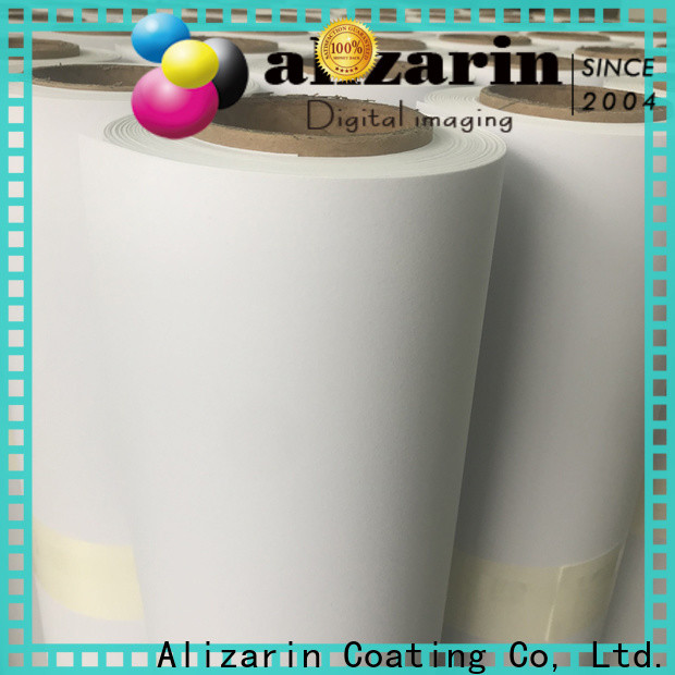 Alizarin top eco-solvent printable vinyl for business for canvas