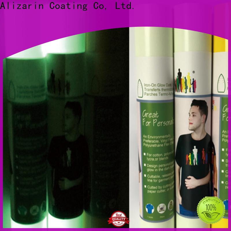 Alizarin heat transfer vinyl supply for bags