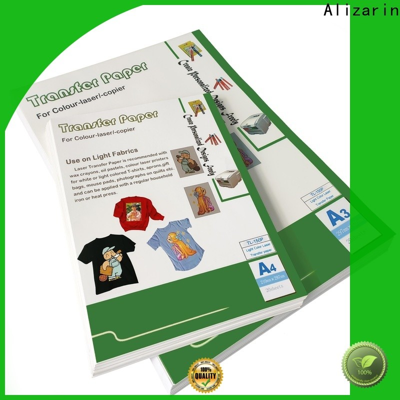 custom laser transfer paper manufacturers for leather articles
