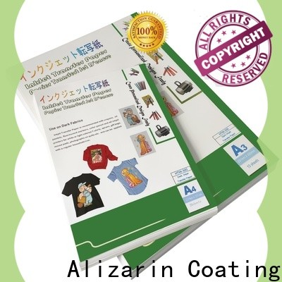 Alizarin heat transfer paper for business for textiles
