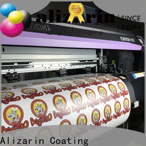 Alizarin eco-solvent printable vinyl company for sportswear