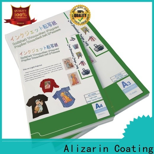 wholesale transfer paper for business for garments