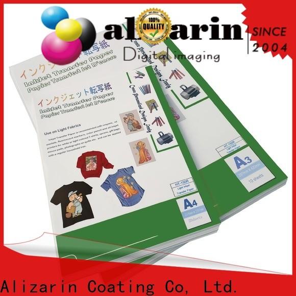 Alizarin wholesale inkjet heat transfer paper factory for textiles