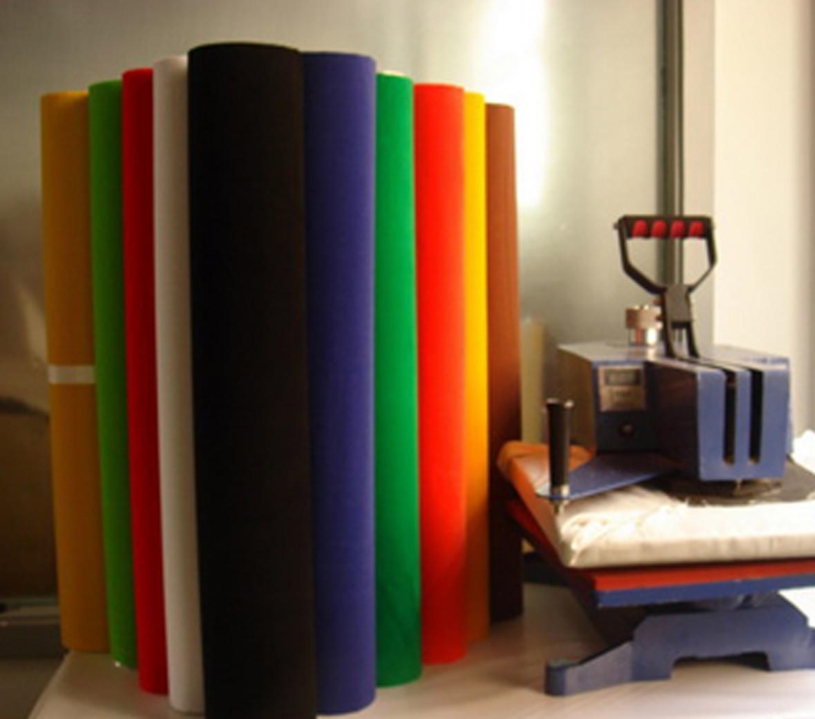 Alizarin vinyl heat transfer paper factory for clothing