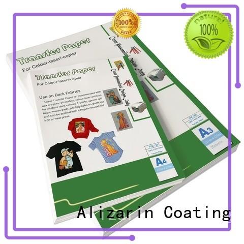 Alizarin custom color laser transfer paper suppliers for mugs