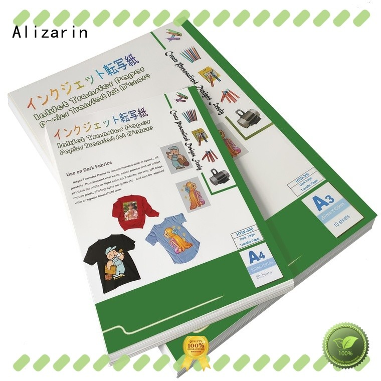 new inkjet transfer paper for t shirts manufacturers for arts and crafts