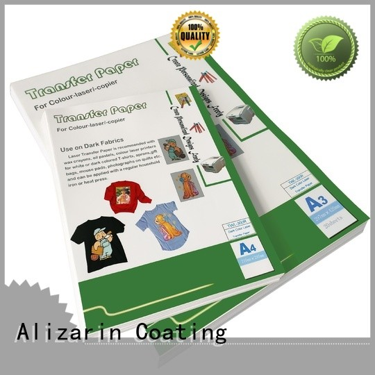Alizarin new color laser transfer paper manufacturers for leather articles