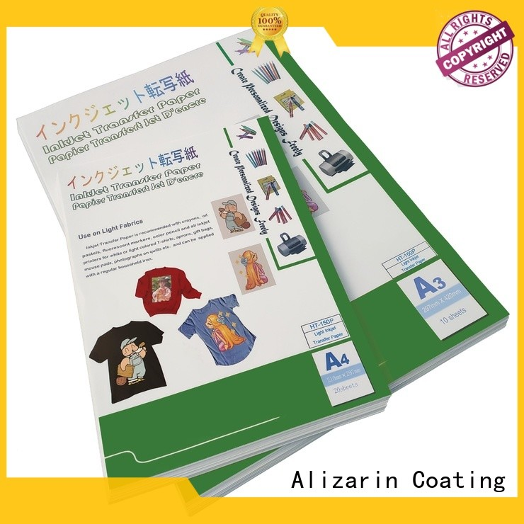 wholesale inkjet transfer paper suppliers for clothes