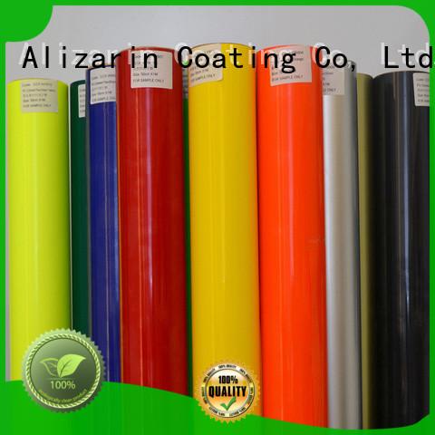 Alizarin vinyl heat transfer paper for business for poster
