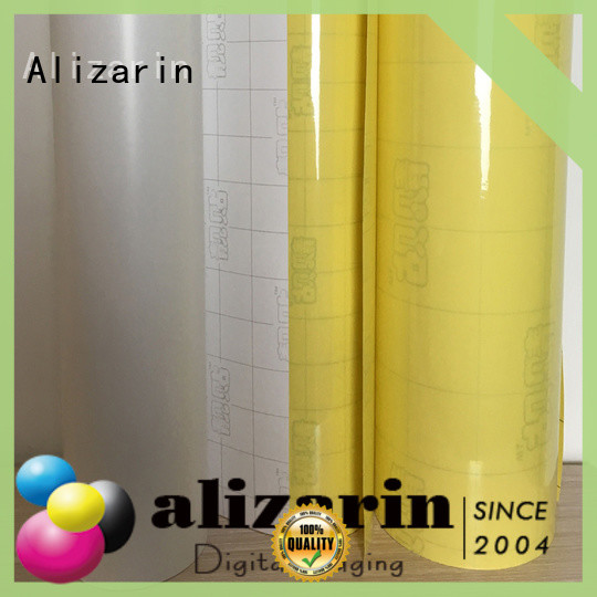 Alizarin eco-solvent printable vinyl supply for canvas