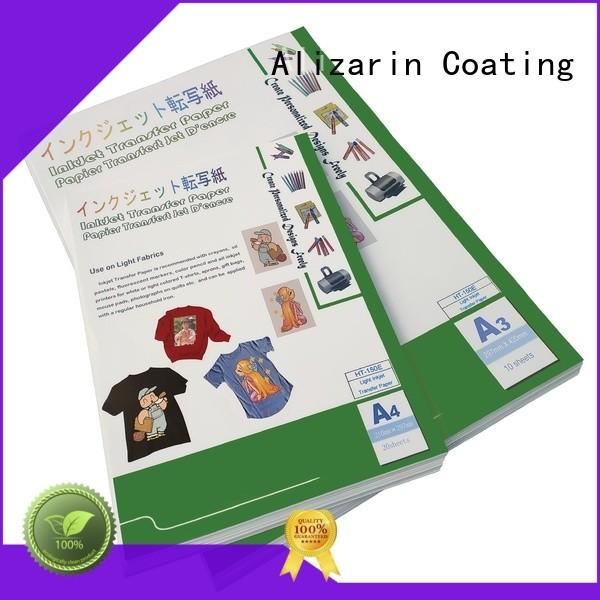 Alizarin best heat transfer paper factory for canvas